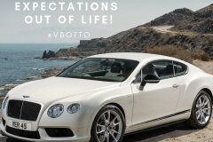 Have unreasonable expectations Out of Life  - Victor Botto