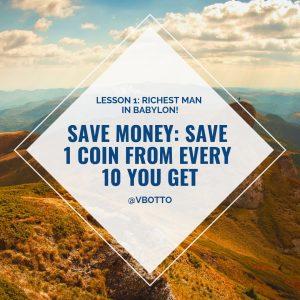 Lesson 1_ Save Money Victor Botto